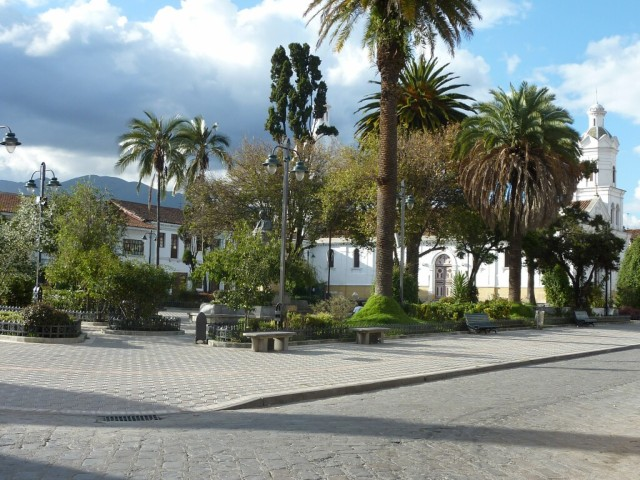 A square in Cuenca