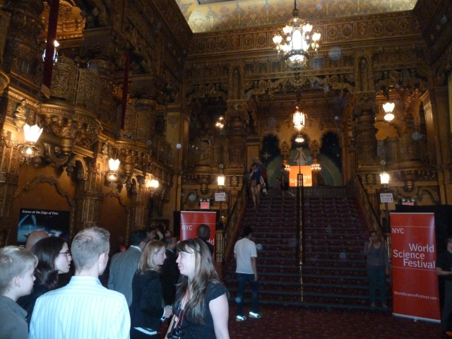 Entrance hall of the United Palace Theater