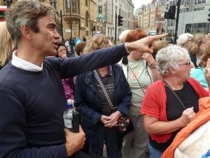 Duncan Duff, our City Tour guide