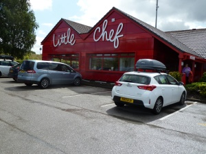 Lunch at the Little Chef