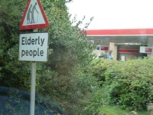 Elderly Pickpocket