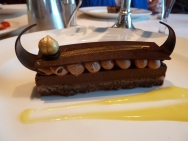 Viking Longboat for dessert