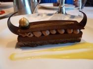Viking Longboat for dessert