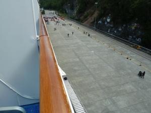 Skagway's simple dockside